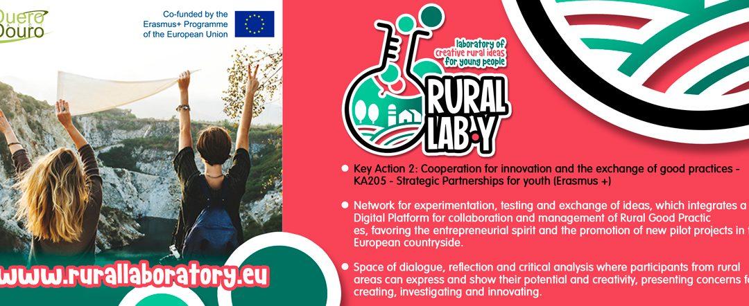 """La AECT Duero-Douro presenta el proyecto europeo Laboratorio de Ideas Rurales Creativas para Jóvenes """"RURAL LAB-Y"""""""
